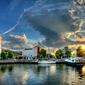 Portsmouth Sunset by Williams-Cairns Photography LLC