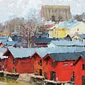Porvoo Town by Pekka Liukkonen