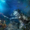 Poseidon by Marc Huebner