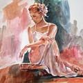 Posing by Khalid Saeed