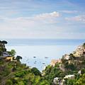 Positano Italy by Daryl L Hunter