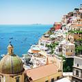 Positano, Italy II by Anastasy Yarmolovich