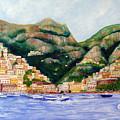 Positano by Leonardo Ruggieri