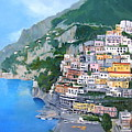 Positano by Neal Smith-Willow