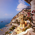 Positano View by Neil Buchan-Grant