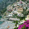 Positano's Beach by Donna Corless