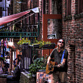 Post Alley Musician by David Patterson