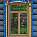 Post Dacha Window by Jost Houk