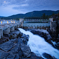 Post Falls Dam by Idaho Scenic Images Linda Lantzy