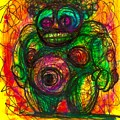 Post Modern Venus Of Willendorf  She's Mad As Hell Guys  Rightfully So by David Weinholtz