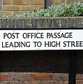 Post Office Passage In Hastings by David Fowler