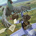 Postal Bird by Martin Davey