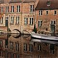 Postcard Canal II by Joan Carroll