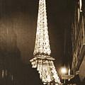 Postcard From Paris- Art By Linda Woods by Linda Woods