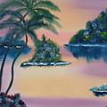 Postcard From The Keys by Warren Thompson