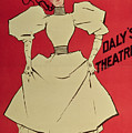 Poster Advertising A Gaiety Girl At The Dalys Theatre In Great Britain by Dudley Hardy