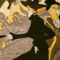 Poster Advertising Le Divan Japonais by Henri de Toulouse Lautrec
