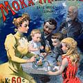 Poster Advertising Moka Maltine Coffee by French School