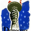 Poster: Democracy, C1940 by Granger