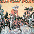 Poster For Buffalo Bill's Wild West Show by American School