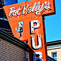 Pot Belly's Pub Sign by Mike Martin