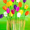 Pot O'tulips by Annie Mac