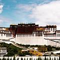 Potala Palace Dalai Lama Home Place. Tibet Kailash Yantra.lv 2016  by Raimond Klavins