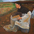 Potatoe Pickers by Richard Le Page