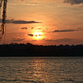Potomac River Sunset In March by Emmy Vickers