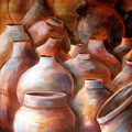 Pots In Morocco by Patricia Rachidi