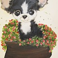 Potted Pup by Rachel Carmichael