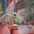 Pottery Garden by AnnE Dentler