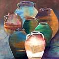 Pottery Jars by Patti Ferron