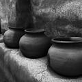 Pottery Tumacacori Arizona by Bob Christopher