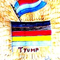 Potus For All Black Brown, Red, Yellow, White by Richard W Linford