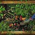 Poultrified Garden Of Eden by Robert Pratt