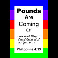 Pounds Are Coming Off by Philip Jones