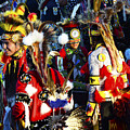 Pow Wow Beauty Of The Past 5 by Bob Christopher