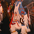 Pow Wow  Dancer  by Keith Nolan