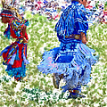 Pow Wow Dancers by Anna Louise
