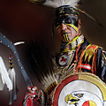 Pow Wow Portrait Of A Proud Man 2 by Bob Christopher
