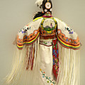 Pow Wow Traditional Dancer 3 by Bob Christopher
