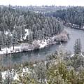 Powdered Spokane River by Ben Upham III