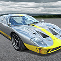 Power And Performance - Ford Gt40 by Gill Billington