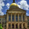 Power House One Georgia State Capital Atlanta Ga Art by Reid Callaway