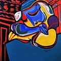Power Nap  Picasso By Nora by Nora Shepley
