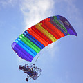 Powered Parasailing 1 by Kenneth Albin