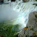 Powerful Large Waterfall Shoshone Falls Amazing Beauty Water Fal by Lane Erickson