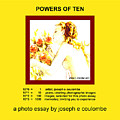 Powers Of Ten In Yellow by Joseph Coulombe