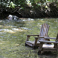 pr 165 - Chairs In The River by Chris Berry